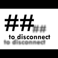 ## to disconnect