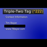 Triple-Two Tag