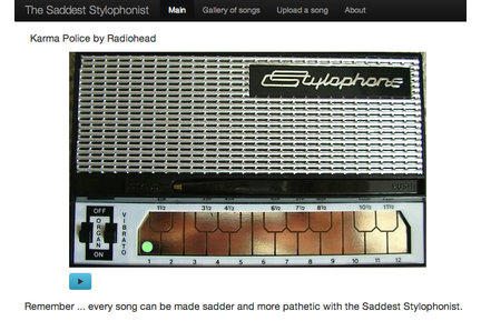 The Saddest Stylophone