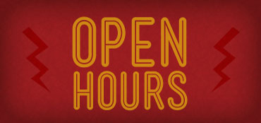 Homepage - Open Hours