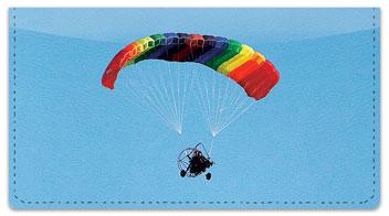 Powered Parachute 2 Checkbook Cover