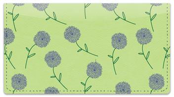 Shower of Flowers Checkbook Cover