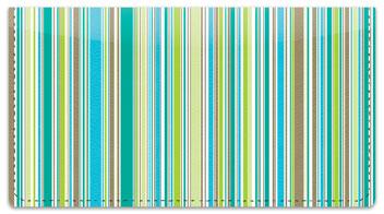 Vertical Stripe Checkbook Cover