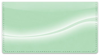 Simple Swoosh Checkbook Cover