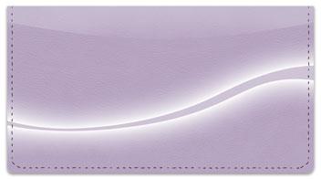 Purple Swoosh Checkbook Cover