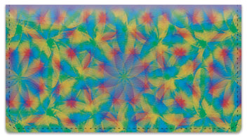Kaleidoscope Checkbook Cover