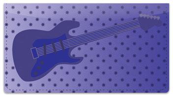 Guitar Checkbook Cover