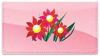 Spring Flower Checkbook Cover