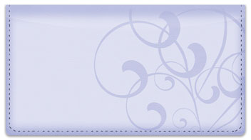 Violet Vine Checkbook Cover