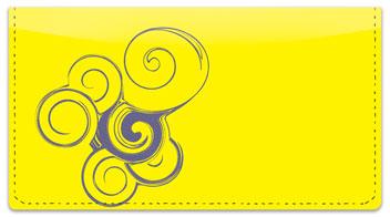 Seashell Swirl Checkbook Cover