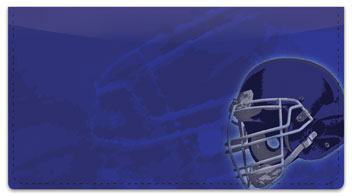 Football Checkbook Cover