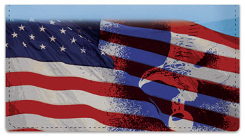 Colors of Honor Checkbook Cover