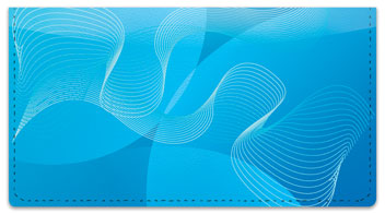 Funky Lines Checkbook Cover
