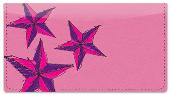 Nautical Star Checkbook Cover