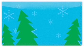 Winter Fun Checkbook Cover