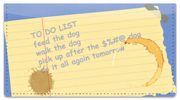 To Do List Checkbook Cover