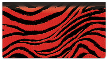 Animal Print Checkbook Cover