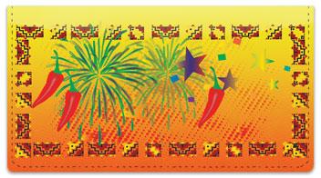 Southwestern Celebration Checkbook Cover