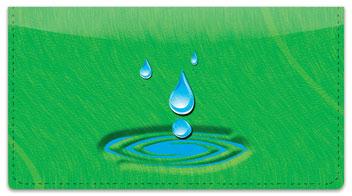 Splish Splash Checkbook Cover
