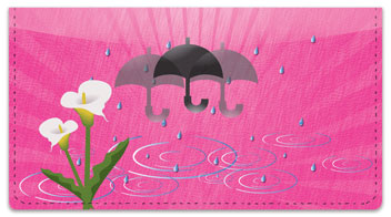 Umbrella Checkbook Cover