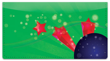 Cosmic Star Checkbook Cover