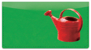 Gardening Checkbook Cover