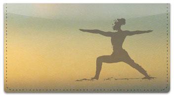 Yoga Checkbook Cover