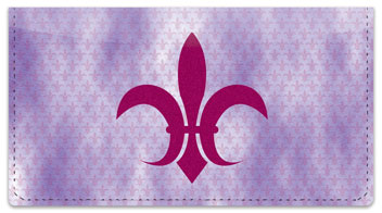 Fleur-de-lis Checkbook Cover