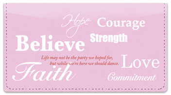 Words of Hope Checkbook Cover