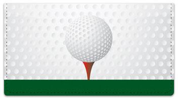 Gone Golfing Checkbook Cover