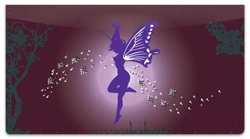 Fantasy Fairy Checkbook Cover