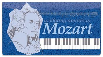Classic Composer Checkbook Cover