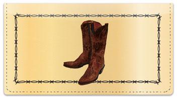 Classic Cowboy Checkbook Cover