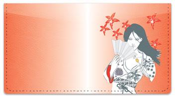 Japan Checkbook Cover