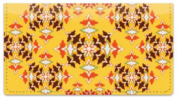 Spanish Tile Checkbook Cover