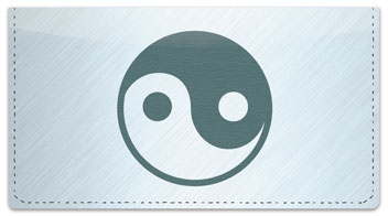 Yin Yang Checkbook Cover