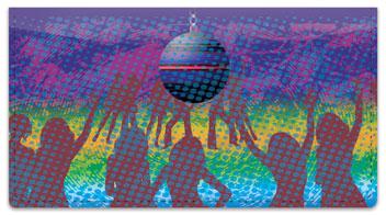 Dance Fever Checkbook Cover