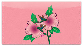 Hummingbird Checkbook Cover
