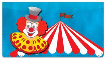 Circus Checkbook Cover