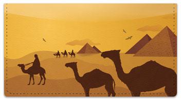 Egyptian Checkbook Cover