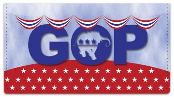Republican Party Checkbook Cover