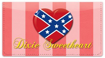 Dixie Girl Checkbook Cover