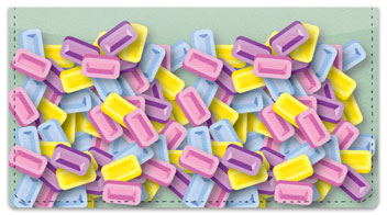 Sweet Candy Checkbook Cover