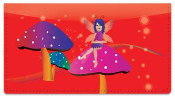 Magical Fairy Checkbook Cover