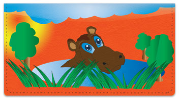 Hungry Hippo Checkbook Cover