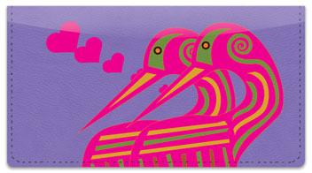 Love Bird Checkbook Cover