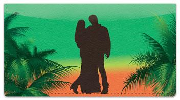 Romantic Hideaway Checkbook Cover