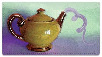 Teapot Checkbook Cover