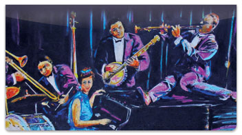 Jazz Age Checkbook Cover