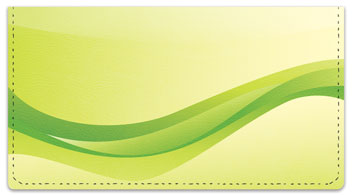 Gentle Wave Checkbook Cover